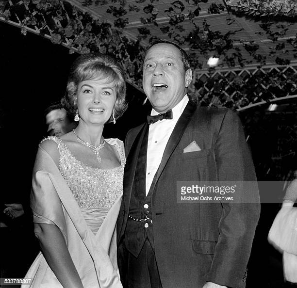 Actress Donna Reed and husband Tony Owens attend an event in Los Angeles,CA.