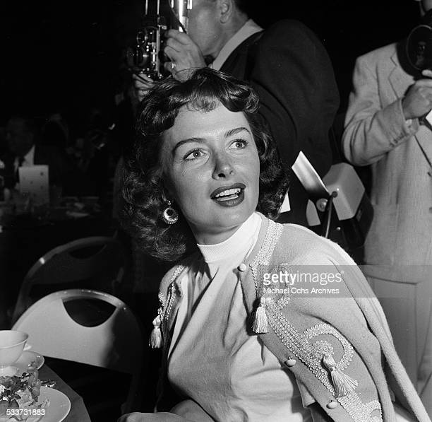 Actress Donna Reed attends an event in Los AngelesCA