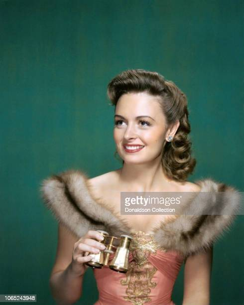 "Actress Donna Reed in a scene from the movie ""The Picture of Dorian Gray"""