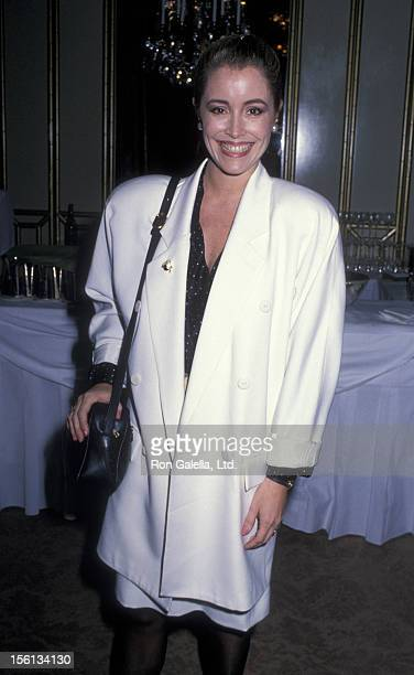 Actress Donna Rice attends 48th Annual Golden Apple Awards on December 11 1988 at the Beverly Wilshire Hotel in Beverly Hills California