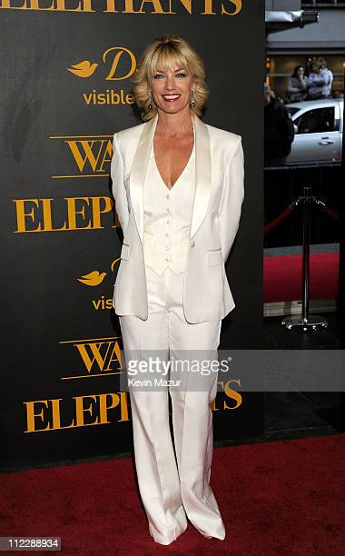Actress Donna Scott attends the 'Water For Elephants' premiere at the Ziegfeld Theatre on April 17 2011 in New York City