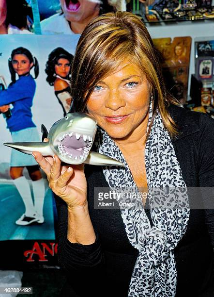 Actress Donna Wilkes at the Second Annual David DeCoteau's Day Of The Scream Queens held at Dark Delicacies Bookstore on January 25 2015 in Burbank...