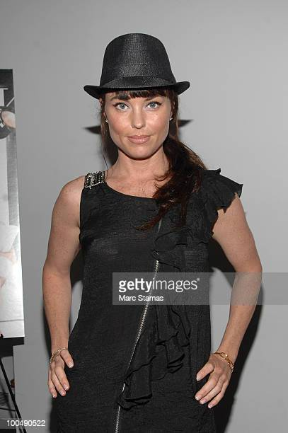 Actress Donnamarie Recco attends a screening of Finding Bliss at the Museum of Sex on May 24 2010 in New York City