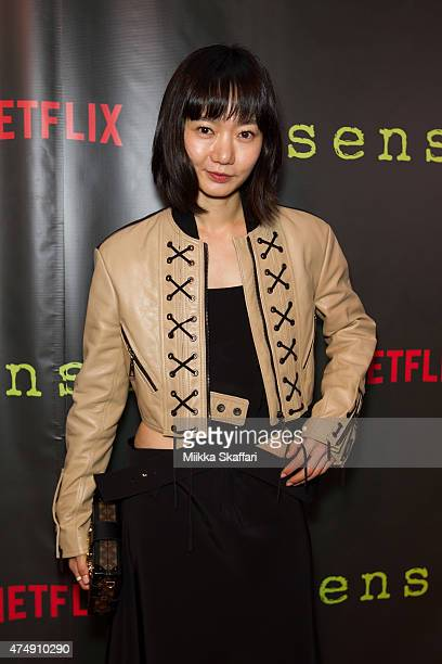 Actress Doona Bae arrives at the Premiere of Sense8 at AMC Metreon 16 on May 27 2015 in San Francisco California