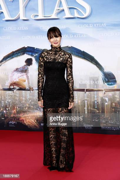 Actress Doona Bae attends the 'Cloud Atlas' Germany premiere at Cinestar Sony Center on November 5 2012 in Berlin Germany