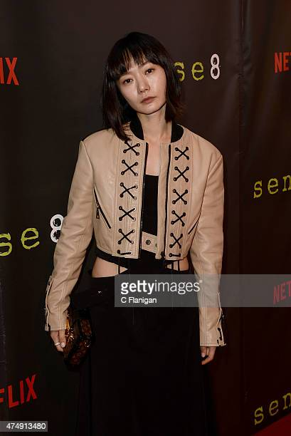 Actress Doona Bae attends the Premiere Of Netflix's Sense8 at AMC Metreon 16 on May 27 2015 in San Francisco California