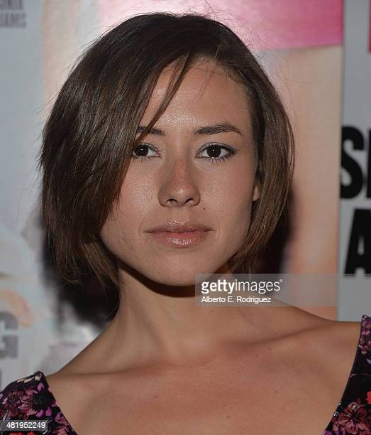 Actress Dora Madison Burge attends the premiere of Screen Media Films' 10 Rules For Sleeping Around at the Egyptian Theatre on April 1 2014 in...