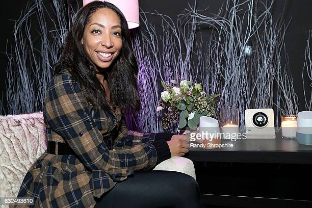 Actress Dorcas Tejeda attends Google Home x Sundance x Wanderluxxe celebrate diversity at the home of Barry Amy Baker on January 22 2017 in Park City...