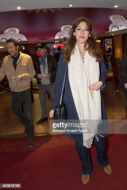 Actress Doria Tillier attends Robert Charlebois Performs for 50th years of Songs at Le Grand Rex on April 7 2018 in Paris France