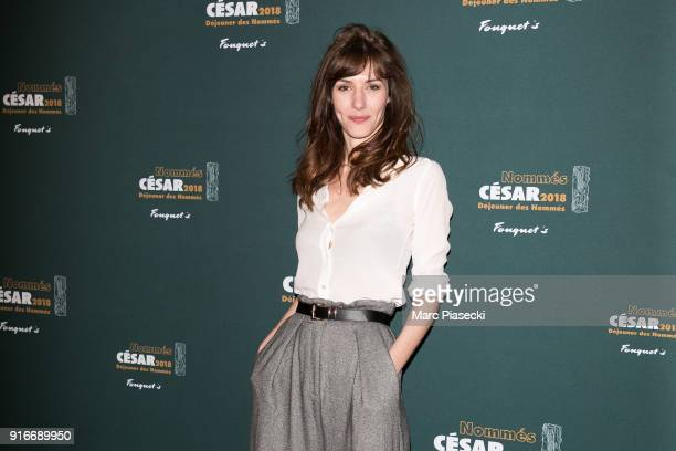 Actress Doria Tillier attends the Cesar 2018 nominee luncheon at Le Fouquet's on February 10 2018 in Paris France