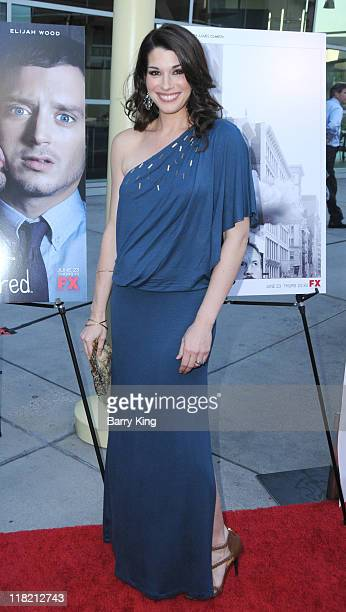 Actress Dorian Brown arrives at FX Network premiere of Wilfred and season two launch of Louie at ArcLight Hollywood on June 20 2011 in Hollywood...
