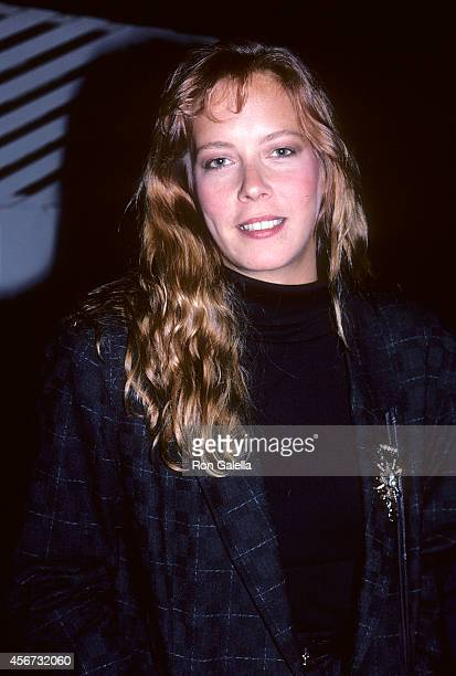 Actress Dorian Lopinto on September 23 1986 at Spago in West Hollywood California