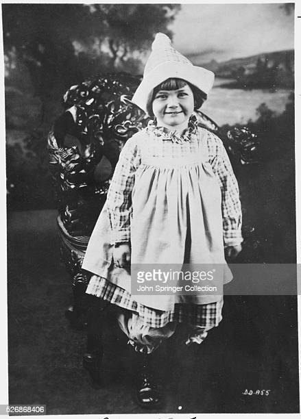 Actress Doris Day at the age of four and a half years