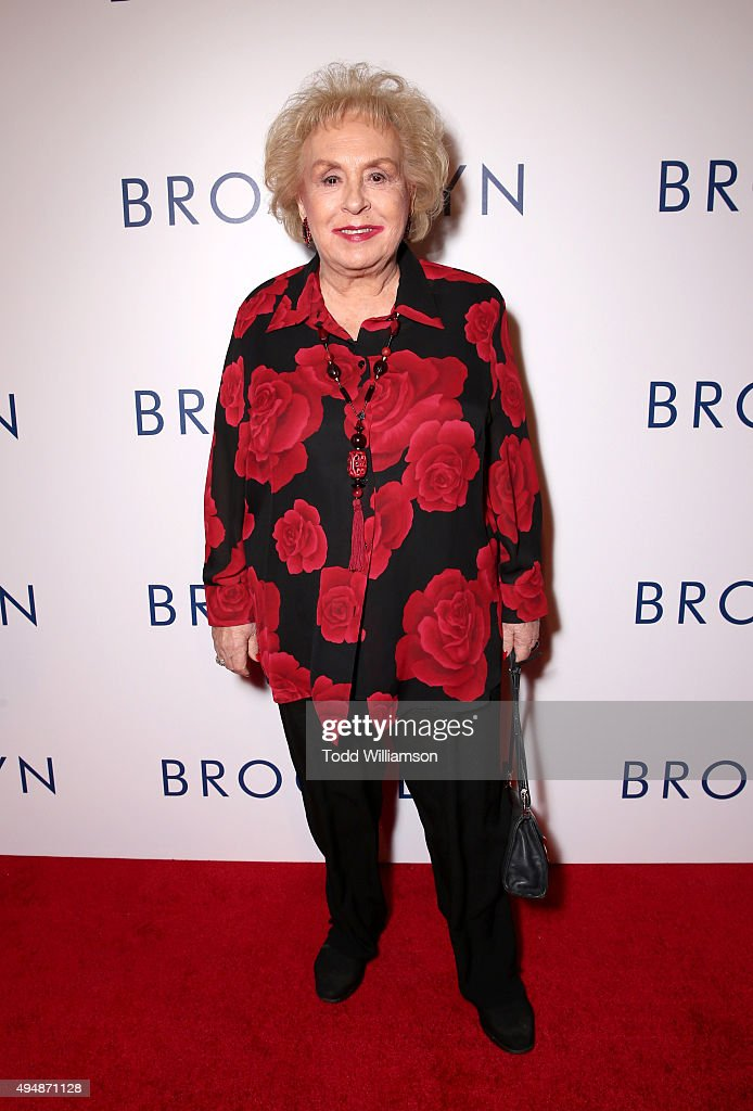 Actress Doris Roberts arrives at the Los Angeles premiere of Fox Searchlight's 'Brooklyn' at the Harmony Gold Theatre on October 29, 2015 in Los Angeles, California.