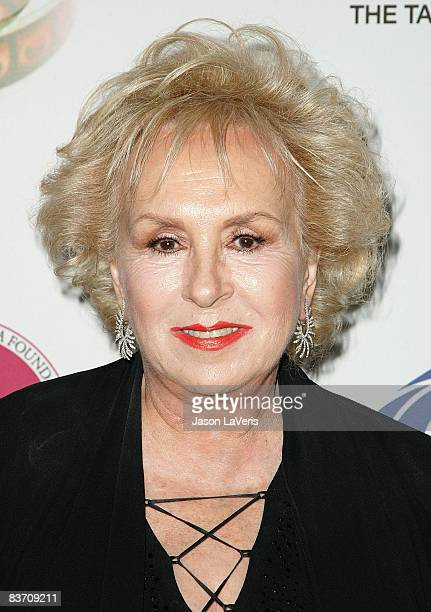 Actress Doris Roberts attends the IMF 2nd annual comedy celebration at the Wilshire Ebell Theatre on November 15 2008 in Los Angeles California