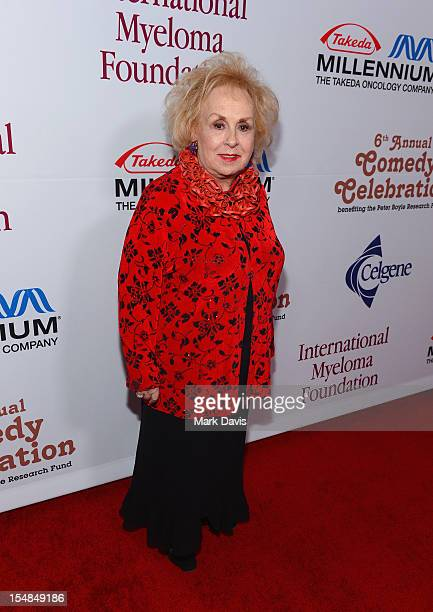 Actress Doris Roberts attends the International Myeloma Foundation's 6th Annual Comedy Celebration hosted by Ray Romano benefiting The Peter Boyle...