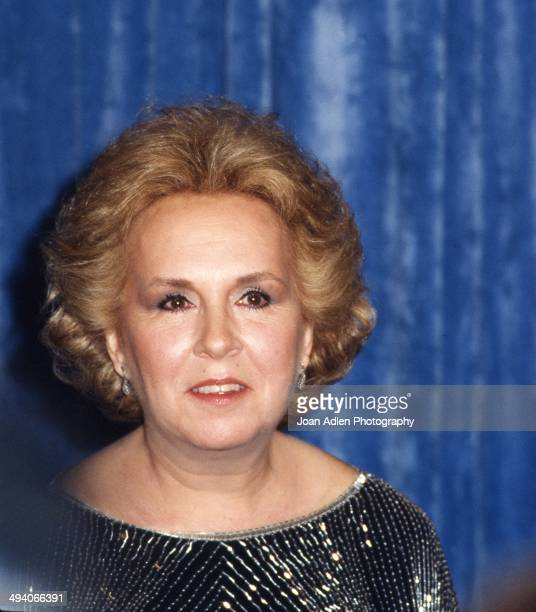 Actress Doris Roberts wins award for Outstanding Supporting Actress in a Drama Series - St. Elsewhere, at the 35th Annual Primetime Emmy Awards held...