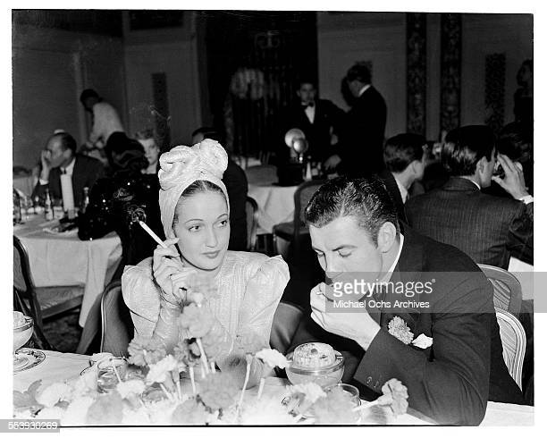 Actress Dorothy Lamour attend an event in Los Angeles California
