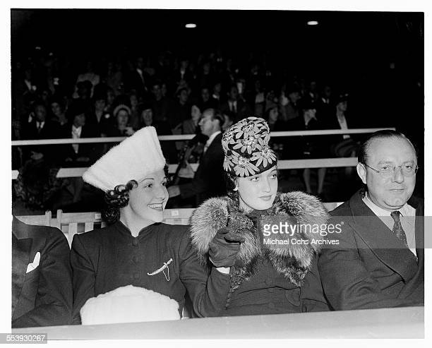 Actress Dorothy Lamour attends an event in Los Angeles California