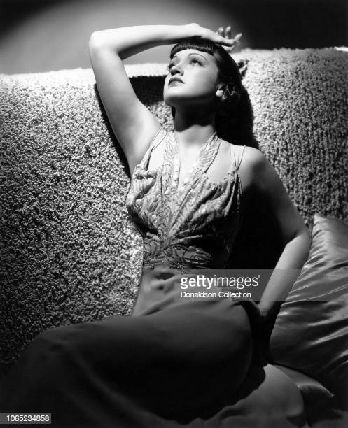 Actress Dorothy Lamour in a scene from the movie Disputed Passage