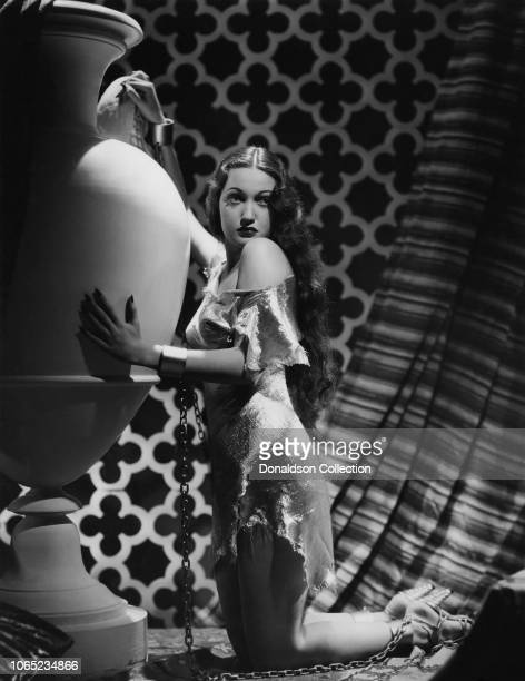 Actress Dorothy Lamour in a scene from the movie Man About Town