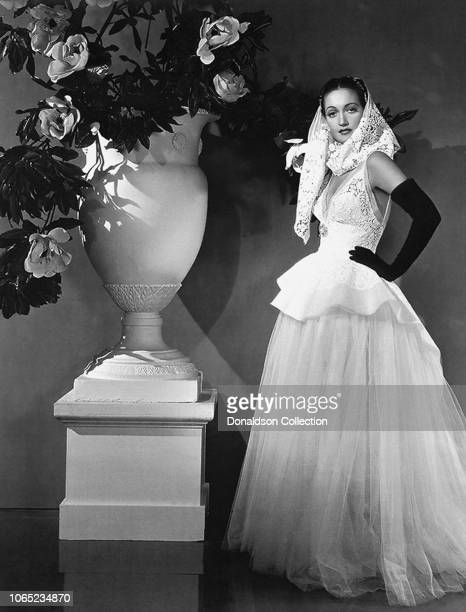 Actress Dorothy Lamour in a scene from the movie Masquerade in Mexico