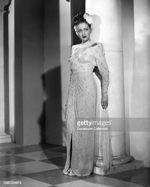 Actress Dorothy Lamour in a scene from the movie Road to Rio