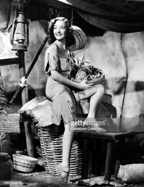 Actress Dorothy Lamour in a scene from the movie Road to Zanzibar