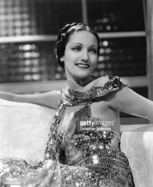 Actress Dorothy Lamour in a scene from the movie Swing High Swing Low