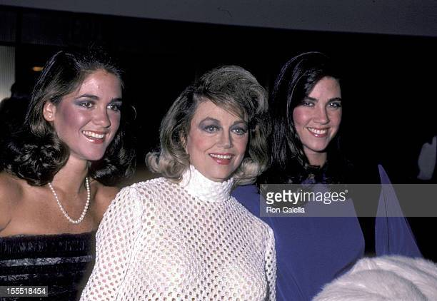 Actress Dorothy Malone and daughters Diane Bergerac and Mimi Bergerac attend The National Film Society's Eighth Annual Artistry in Cinema Awards on...