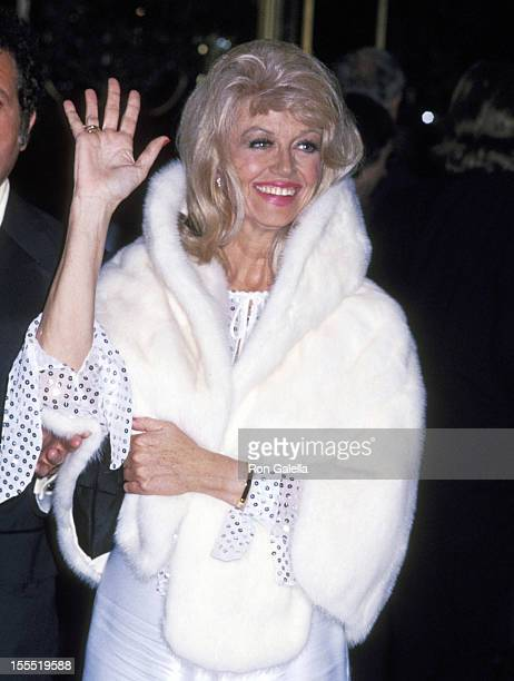 Actress Dorothy Malone attends the 50th Annual Academy Awards Governor's Ball on April 3 1978 at Beverly Hilton Hotel in Beverly Hills California
