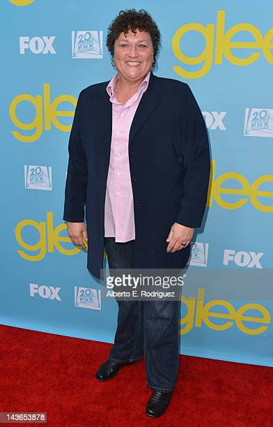 Actress Dot Marie Jones arrives to The Academy of Television Arts Sciences' screening of Fox's Glee at Leonard Goldenson Theatre on May 1 2012 in...