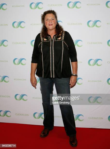 Actress Dot Marie Jones attends the Cocktails for Change fundraiser hosted by ClexaCon to benefit Cyndi Lauper's True Colors Fund at the Tropicana...