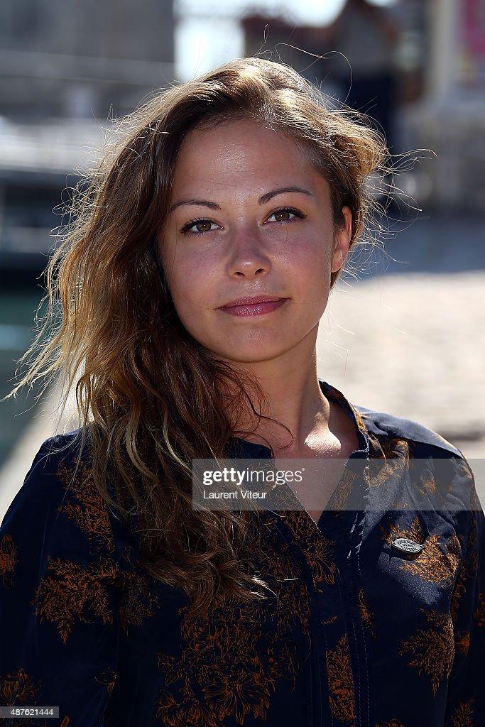 'Dounia Coesens' - Photocall -17th Festival of TV Fiction At La Rochelle