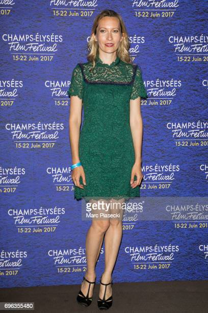 Actress Dounia Sichov attends the 6th 'ChampsElysees Film Festival' at Cinema Gaumont Marignan on June 15 2017 in Paris France