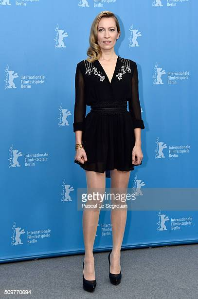 Actress Dounia Sichov attends the 'Boris without Beatrice' photo call during the 66th Berlinale International Film Festival Berlin at Grand Hyatt...