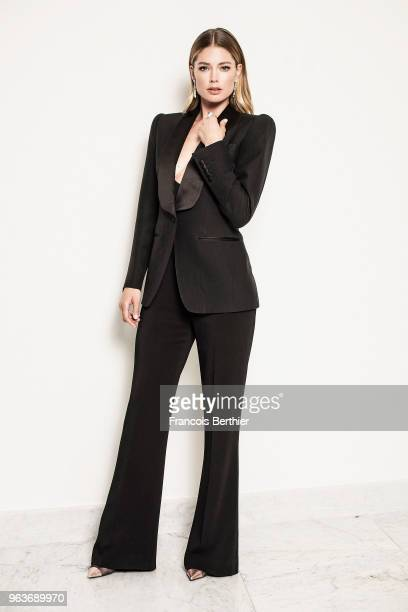 Actress Doutzen Kroes is photographed for Gala Croisette on May 2018 in Cannes France