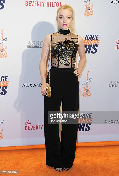 Actress Dove Cameron arrives at the 23rd Annual Race To Erase MS Gala at The Beverly Hilton Hotel on April 15 2016 in Beverly Hills California