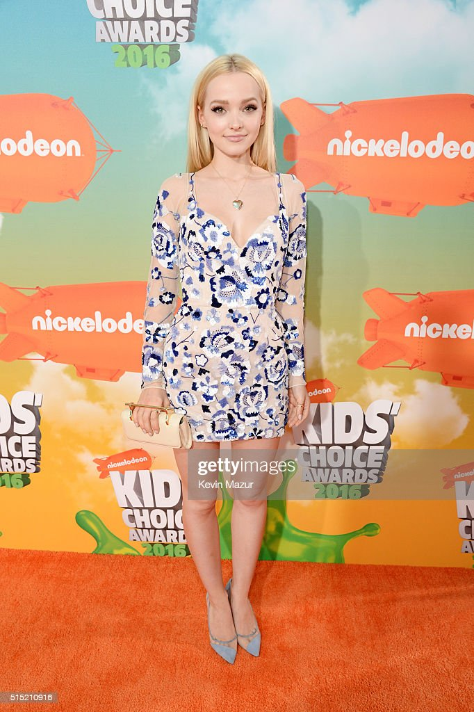 Actress Dove Cameron attends Nickelodeon's 2016 Kids' Choice Awards at The Forum on March 12, 2016 in Inglewood, California.