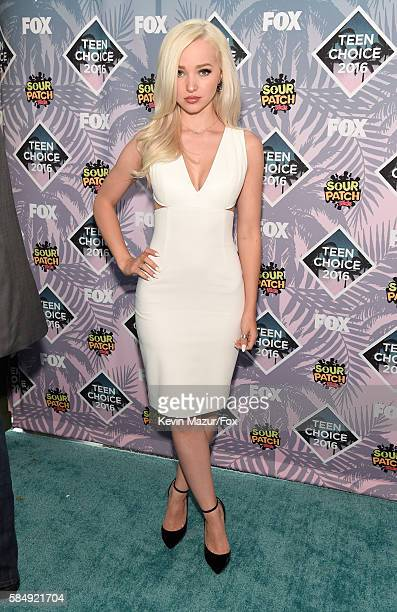 Actress Dove Cameron attends Teen Choice Awards 2016 at The Forum on July 31 2016 in Inglewood California