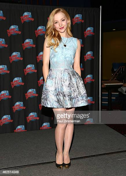 Actress Dove Cameron visits Planet Hollywood Times Square on January 13 2014 in New York City
