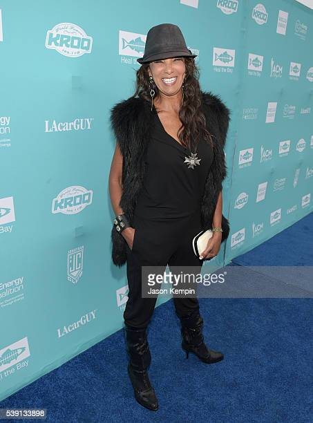 Actress Downtown Julie Brown attends Heal the Bay's annual Bring Back the Beach Gala at on June 9, 2016 in Santa Monica, California.