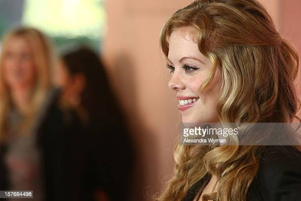 Actress Dreama Walker arrives at The Hollywood Reporter's 'Power 100 Women In Entertainment' Breakfast at the Beverly Hills Hotel on December 5 2012...