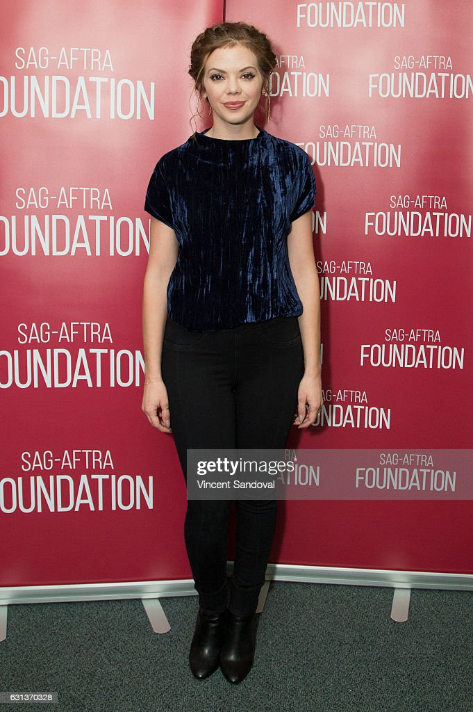 Actress Dreama Walker attends SAG-AFTRA Foundation's Conversations with 'Doubt' at SAG-AFTRA Foundation Screening Room on January 9, 2017 in Los Angeles, California.