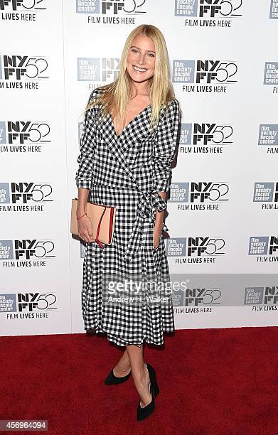 Actress Dree Hemingway attends the Listen Up Phillip premiere during the 52nd New York Film Festival at Alice Tully Hall on October 9 2014 in New...