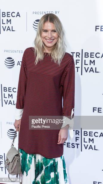 Actress Dree Hemingway attends US Narrative Competition Love After Love Premiere during the 2017 Tribeca Film Festival at SVA Theater Manhattan