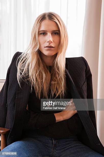 Actress Dree Hemingway is photographed for Vanity Faircom on April 19 2016 in New York City