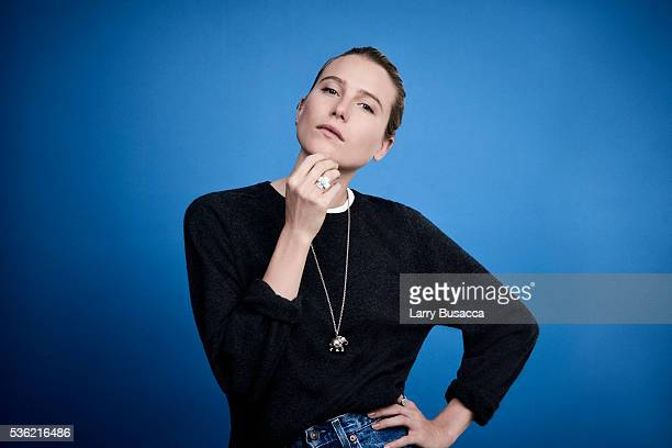 Actress Dree Hemingway poses for a portrait at the Tribeca Film Festival on April 16 2016 in New York City