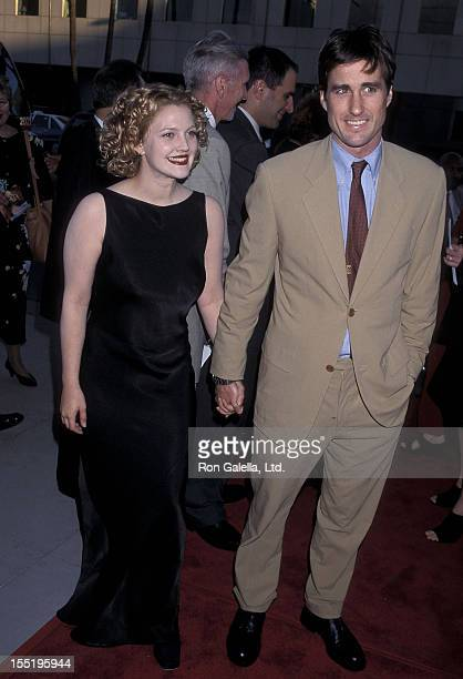 Actress Drew Barrymore and actor Luke Wilson attend the 'Ever After' Beverly Hills Premiere on July 29 1998 at the Samuel Goldwyn Theatre in Beverly...