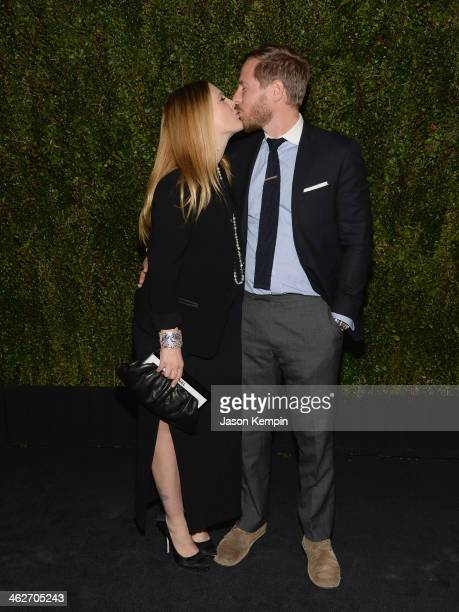 Actress Drew Barrymore and husband Will Kopelman attend the Chanel Celebration of the release of Drew Barrymore's Photo Book 'Find It In Everything'...